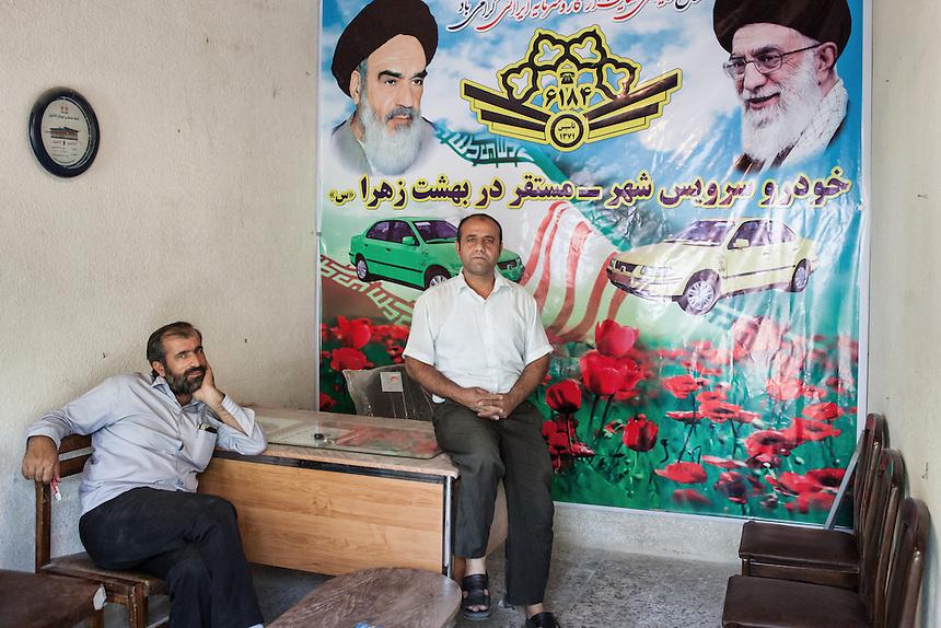 Scene from around the Holy Shrine of Imam Khomeini, Greater Tehran.