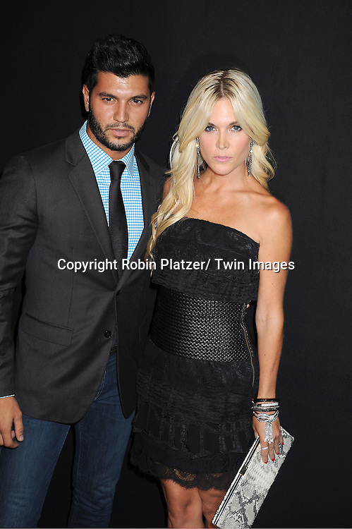 Tinsley Mortimer and Brian Mazza attending the Kim Kardashian and husband Kris Humphries Welcome to New York Party on August 31, 2011 at Capitale in New York City.