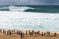 BANZAI PIPELINE, Oahu/Hawaii (Saturday, December 13, 2014) Jamie O'Brien (Haw) surfing Pipeline after the contest was called off fro the day. - The final stop of the 2014  World Championship Tour, the Billabong Pipe Masters in Memory of Andy Irons, was  called ON today in NW double overhead surf. <br /> Round 1 was completed as the swell continued to rise and the Easterly Trade winds increased in strength. Kelly Slater (USA) kept his World Title hopes alive after winning his heat against Reef MacIntosh (HAW). Jordy Smith(ZAF) was injured when he hit the reef at Backdoor.<br /> Conditions worsen around the end of the Round and the event was first put on hold then postponed for the day.  <br /> <br /> The Billabong Pipe Masters in Memory of Andy Irons will determine this year&rsquo;s world surfing champion as well as those who qualify for the elite tour in 2015. As the third and final stop on the Vans Triple Crown of Surfing Series  the event will also determine the winner of the revered three-event leg.<br /> <br />  Photo: joliphotos.com