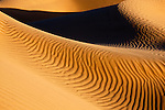 Picture of a sand dune in the Sahara desert of Morocco.
