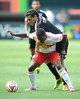 Washington D.C. - August 31, 2014:   D.C. United defeated the New York Red Bulls 2-0 during a Major League Soccer match for the 2014 season at RFK Stadium.