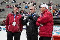 El Paso, TX - December 30, 2016: The Stanford Cardinal defeats the University of North Carolina 25-23 at the Sun Bowl in El Paso, Texas.
