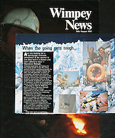 Tasmania Image used in Wimpey News.