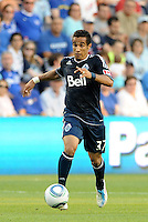 Vancouver Whitecaps midfielder Camilo in action... Sporting KC defeated Vancouver Whitecaps 2-1 at LIVESTRONG Sporting Park, Kansas City, Kanas.