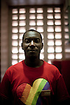 Pastor Brown Kiyimba, an activist in the LGBT community in Uganda. He is attempting to unite people against a proposed anti-homosexuality bill in the countries parliment.
