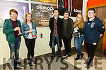 Tralee Omniplex showed the Series Four finale of  'Sherlock' on Sunday pictured l-r Jordan Tearle, Róisín O'Connell, Hugo Wells, Casper Corral, Rachel Rachel Deasey and  Colm McDaid