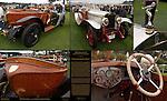 Labourdette Skiffs, 1924 Delage GL, 1913 Peugeot type 150, Pebble Beach Concours d'Elegance