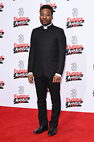 Fisayo Akinade at the Empire Film Awards 2017 at The Roundhouse, Camden, London, UK. <br /> 19 March  2017<br /> Picture: Steve Vas/Featureflash/SilverHub 0208 004 5359 sales@silverhubmedia.com