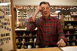 Fred, the manager of Rolling Greens bowling alley in Scotia, NY, on Saturday, December 26, 2009.