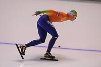 SCHAATSEN: CALGARY: Olympic Oval, 09-11-2013, Essent ISU World Cup, 1500m, Marrit Leenstra (NED), ©foto Martin de Jong