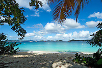 Honeymoon Beach.<br /> Virgin Islands National Park.<br /> St John, US Virgin Islands
