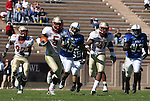 14 October 2006: Florida State's Chris Davis (5) runs a punt back 51 yards to the Duke 8 yard line. The Florida State University Seminoles defeated the Duke University Blue Devils 51-24 at Wallace Wade Stadium in Durham, North Carolina in an Atlantic Coast Conference NCAA Division I College Football game.