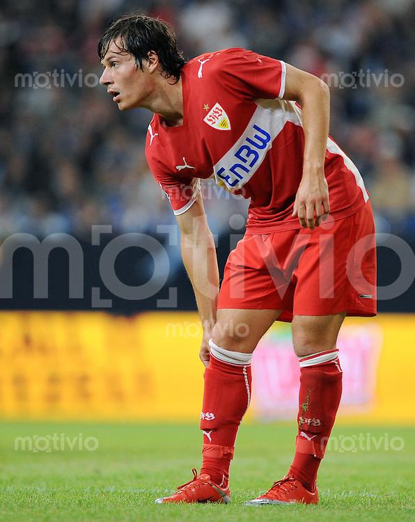 FUSSBALL   T-HOME CUP   SAISON 2009/2010   1. HALBFINALE FC Schalke 04 - VfB Stuttgart          18.07.2009 Stefano CELOZZI (VfB Stuttgart)
