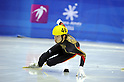 Takahiro Fujimoto (JPN), FEBRUARY 1, 2011 - Short Track : the men's 500m short track skating preliminaries during the 7th Asian Winter Games in Astana, Kazakhstan. (Photo by AFLO) [0006]