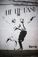 "28.02.2017 - Bambi ""Lie Lie Land"" - Artwork in Islington, London"