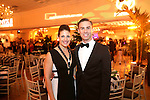 """Southington, CT- 04 February 2017-020417CM15-  Social Moments--- From left,  Kim Ryan and Alexei Bachuretz of Seymour are photographed during the """"A Night in Havana"""" the 26th annual Gala put on by Saint Mary's Hospital Aqua Turf in Southington.   Christopher Massa Republican-American"""