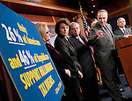 "Dec 3, 2010 - Washington, District of Columbia, U.S. - Senator CHARLES SCHUMER (D-NY) holds a news conference to discuss Democrats' efforts ""to provide tax relief to the middle class and reduce the deficit.""(Credit Image: © Pete Marovich/ZUMA Press)"