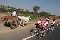 Tour of India - Nasik Stage Warm-up With RadioShack