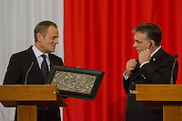Donald Tusk visit Viktor Orban