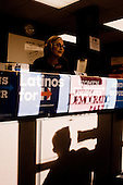 PHOENIX, ARIZONA, USA, 19/10/2016:<br /> Reception at the democrating party headquarters.<br /> Arizona, traditionally very republican state, has become a swing state with both main candidates equally scoring in polls. (Photo by Piotr Malecki / Napo Images)