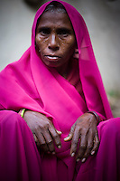 42 year old Banhari Devi is a member of the 10,000 strong 'Gulabi Gang' (Pink Gang). In the badlands of Bundelkhand, one of the poorest parts of one of India's most populous states, a gang of female vigilantes have sprung up to fight the oppression of a caste-ridden, feudalistic and male dominated society. In a land where dowry demands and domestic and sexual violence are common, the 'Gulabi Gang', so called for their uniform of shocking pink saris, are picking up their lathis to fight against corruption and violence against women.