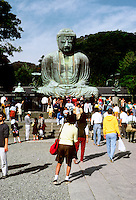 Kamakura: Great Bronze Buddha. Photo '81.