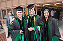 Stephen Morris, left, Aleksey Tadevosyan, Felicia Bahadue. Commencement class of 2013.