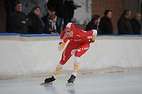 SCHAATSEN: DEVENTER: IJsbaan De Scheg, 27-10-12, IJsselcup, Karsten van Zeijl, ©foto Martin de Jong