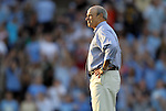 24 August 2012: UNC assistant coach Bill Palladino. The University of North Carolina Tar Heels played the University of Florida Gators to a 0-0 overtime tie at Fetzer Field in Chapel Hill, North Carolina in a 2012 NCAA Division I Women's Soccer game.