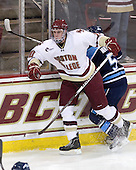 Jimmy Hayes (BC - 10) turned 21 on Sunday. - The Boston College Eagles defeated the visiting University of Maine Black Bears 4-1 on Sunday, November 21, 2010, at Conte Forum in Chestnut Hill, Massachusetts.