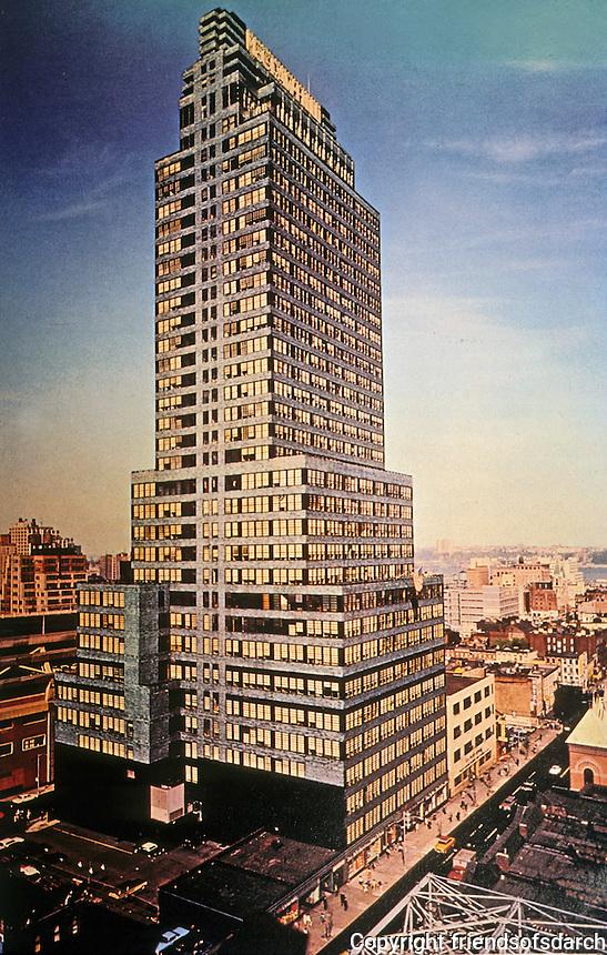 New York:  McGraw-Hill Building, 1931.  Raymond Hood, architect.  Photo '84.