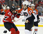 November 7, 2007: Philadelphia Flyers at New Jersey Devils