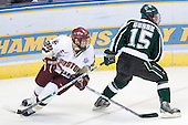 Matt Price (Boston College - Milton, ON), Jeff Dunne (Michigan State - Grover, MO) - The Michigan State Spartans defeated the Boston College Eagles 3-1 (EN) to win the national championship in the final game of the 2007 Frozen Four at the Scottrade Center in St. Louis, Missouri on Saturday, April 7, 2007.