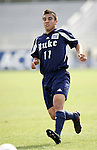 Duke's Spencer Wadsworth on Wednesday, November 9th, 2005 at SAS Stadium in Cary, North Carolina. The Duke University Blue Devils defeated the Virginia Tech Hokies 2-0 during their Atlantic Coast Conference Tournament Quarterfinal game.