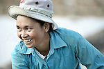 Cheun Keng, a woman in the Cambodian village of Char.