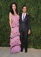 NEW YORK, NY - NOVEMBER 07: Hilary Rhoda and Zac Posen attends 13th Annual CFDA/Vogue Fashion Fund Awards at Spring Studios on November 7, 2016 in New York City. Photo by John Palmer/ MediaPunch