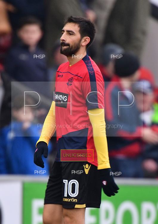 11/03/2017 Sky Bet League 1 Fleetwood Town v Bolton Wanderers<br /> Jem Karacan , Bolton Wanderers FC