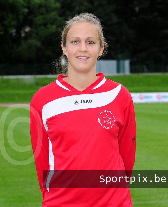 FC Fémina White Star Woluwe : Virginie Temmerman.foto JOKE VUYLSTEKE / Vrouwenteam.be / Loft6.be