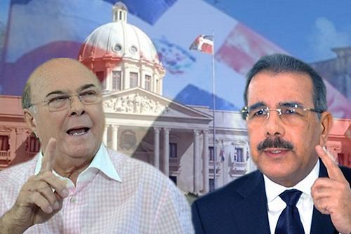 """Hipólito y Danilo abandonan el discurso """"duro"""" contra los funcionarios corruptos"""