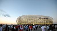 Fussball International  WM Qualifikation 2014   06.09.2013 Deutschland -  Oesterreich  Aussenansicht Allianz Arena Muenchen