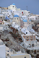 Houses in Santorini, Greece