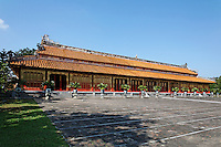 The Mieu temple devoted to ten Emperors of the Nguyen dynasty, Hue Citadel / Imperial City, Hue, Vietnam