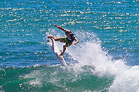 Burleigh Heads, Queensland, Australia (Sunday February 20th 2011). Bede Durbidge (AUS)..Breaka Burleigh Pro - 2011 An International 4-Star Rated $US85,000 Event. DEFENDING event champion Taj Burrow (AUS) spun his way to victory today in the Breaka Burleigh Pro. Run at high tide along the Burleigh rock break. Burrow landed air reverse after air reverse to lock down the win. Joel Parkinson (AUS) in second made a late charge but ran out of time. Bede Durbidge (AUS) was third with Jayke Sharpe (AUS) in his first ever final finishing 4th. . Photo: joliphotos.com