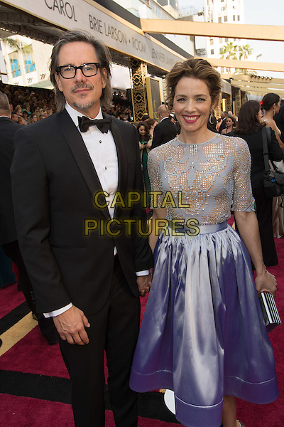 Oscar&reg;-nominee, Charles Randolph, and guest arrive at The 88th Oscars&reg; at the Dolby&reg; Theatre in Hollywood, CA on Sunday, February 28, 2016.<br /> *Editorial Use Only*<br /> CAP/PLF<br /> Supplied by Capital Pictures