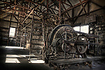 Diesel power generator inside Vulture City Gold Mine in Arizona, USA