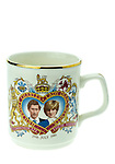 Prince Charles and Lady Diana Spencer Commemorative Royal Wedding Day Mug - Nov 2013.