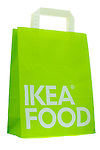 Ikea Food Paper Carrier Bag