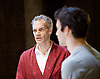 Oresteia<br /> by Aeschylus <br /> a new version created by Robert Icke<br /> at Almeida Theatre, London, Great Britain <br /> press photocall<br /> 4th June 2015 <br /> <br /> <br /> Angus Wright <br /> Luke Thompson <br /> <br /> <br /> <br /> Photograph by Elliott Franks <br /> Image licensed to Elliott Franks Photography Services