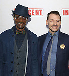 Basil Twist with boyfriend attends the Broadway Opening Night Performance of  'Indecent' at The Cort Theatre on April 18, 2017 in New York City.