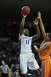 UK center DeNesha Stallworth shoots a lay-up during the first half of the UK vs. Tennessee at Memorial Coliseum in Lexington, Ky., on Sunday, March 3, 2013. Photo by Emily Wuetcher | Staff....